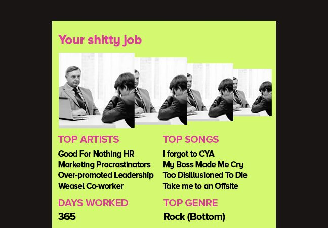 If Spotify Were At Your Office